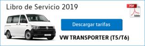 Tarifas Volkswagen Transporter 2019