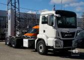 nuevo MAN TGS 26500 6x2-4 BL Porta-contenedor