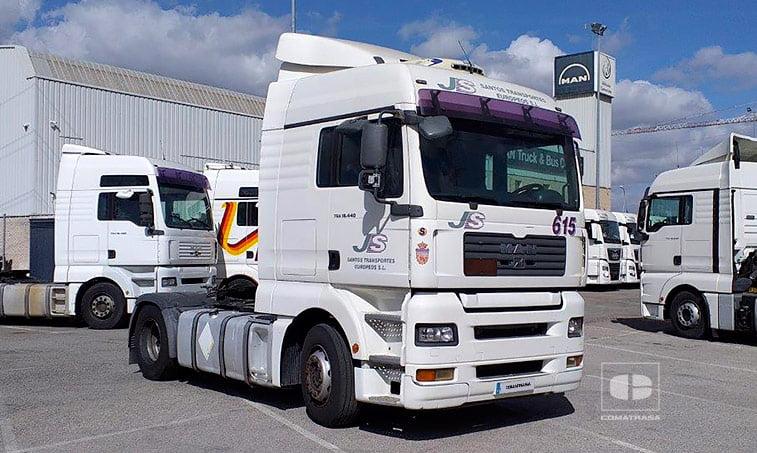 2007 Tractora MAN TGX 18440 4x2 BLS