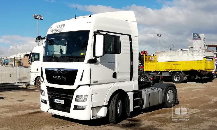 MAN TGX 18500 4x2 BLS Efficientline 3 Cabeza Tractora