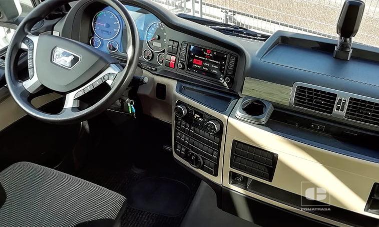 interior cabina MAN TGX 18500 4x2 BLS Efficientline 3 Cabeza Tractora