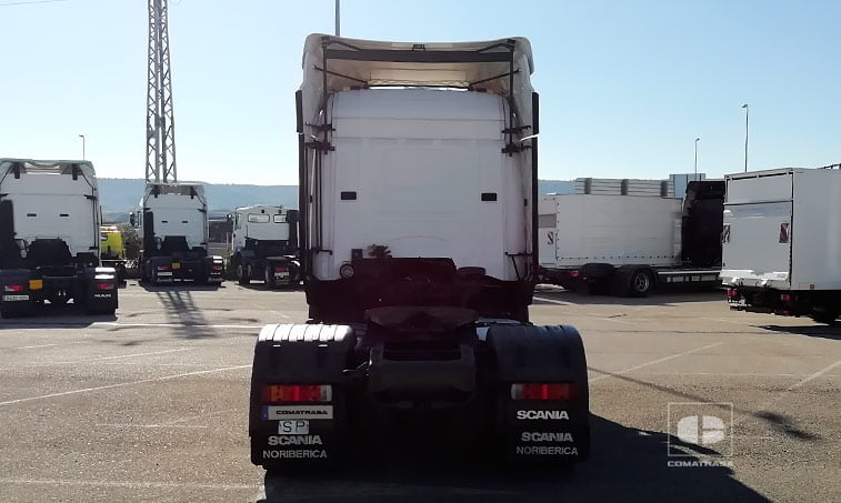 parte trasera Scania R420 LA4X2MNA Cabeza Tractora