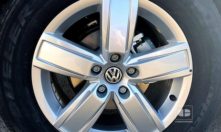 llantas VW Amarok Premium Cabina Doble 3.0 V6 TDI EU6 204 CV