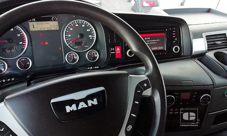 volante MAN TGS 18480 4x2 BLS