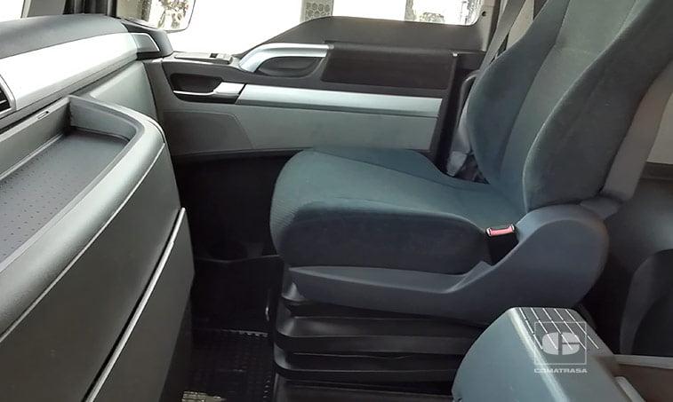 asientos MAN TGX 18440 4x2 BLS EfficientLine Cabeza Tractora