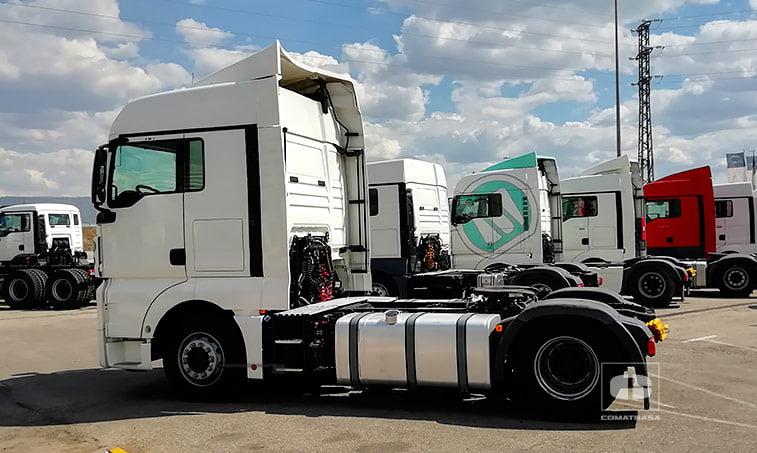 lateral MAN TGX 18440 4x2 BLS Tractora Ocasión