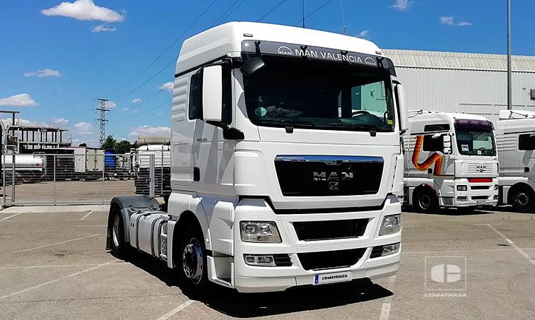 2012 MAN TGX 18480 BLS con Equipo Hidráulico
