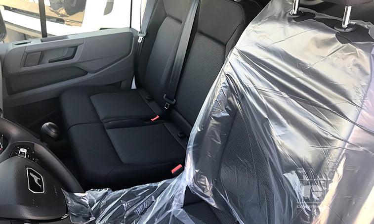 asientos MAN TGE 3140 2.0 TDI 140 CV Furgoneta 14,4 m3