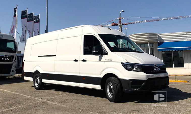 2019 MAN TGE 3180 2.0 TDI 177 CV Furgoneta 16,4 m3