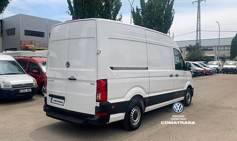 lateral derecho Volkswagen Crafter 30 L3H2 102 CV 2.0 TDI