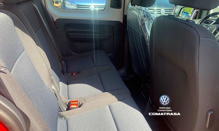 asientos traseros Caddy Maxi Trendline 1.4 TGI 110 CV