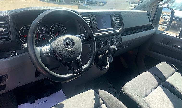 interior Volkswagen Crafter 35 L4H3 140 CV 2.0 TDI