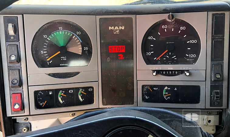 kilometros MAN F2000 FE 360 - 32.364 VFK 8x4 Hormigonera