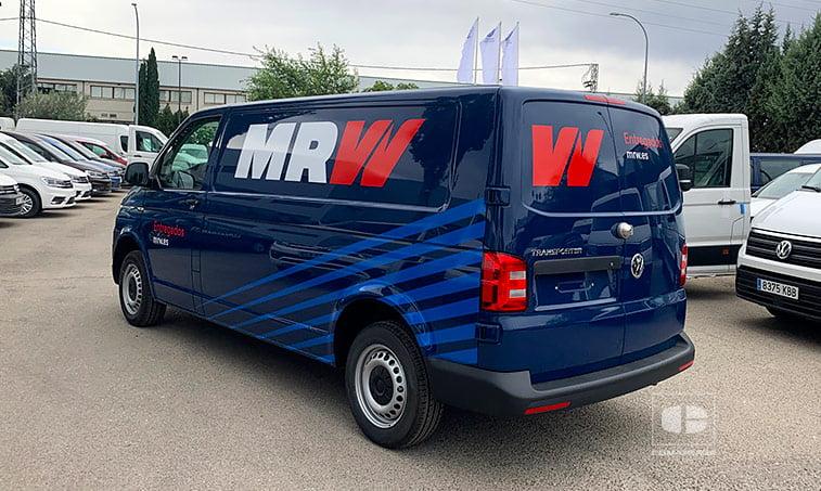 lateral izquierdo Volkswagen Transporter T6 MRW