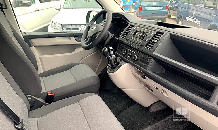 asientos Volkswagen Transporter T6 MRW