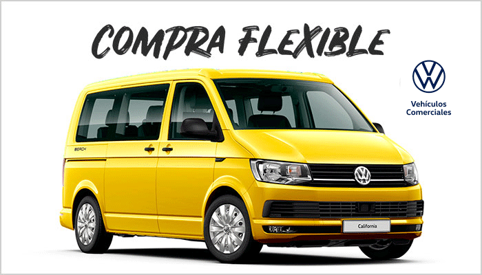 Compra flexible Volkswagen California Beach