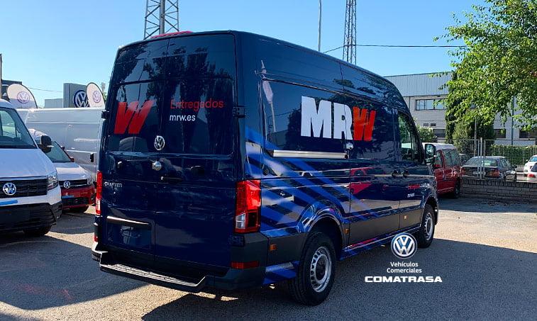 lateral derecho Volkswagen Crafter 35 Furgón MRW
