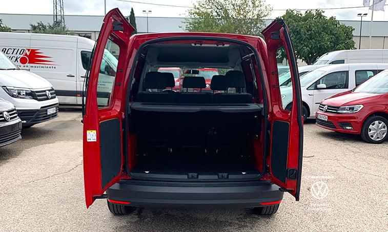 zona de carga Volkswagen Caddy Kombi DSG