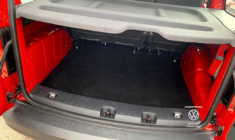 maletero Volkswagen Caddy Kombi DSG