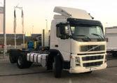 Volvo camión portacontenedores