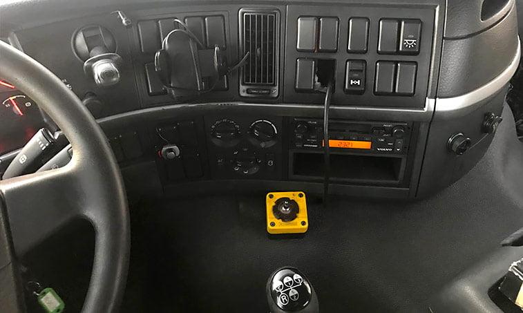 salpicadero Volvo FM12 62 DT AR Camión Portacontenedores