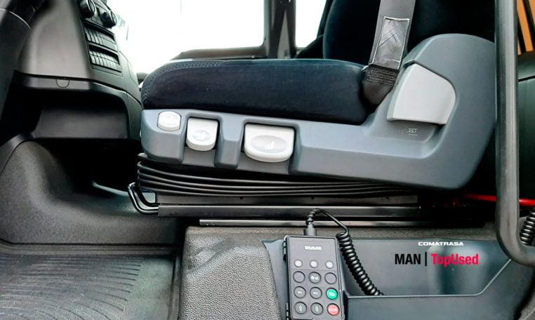 asiento MAN TGX 18480 4x2 BLS