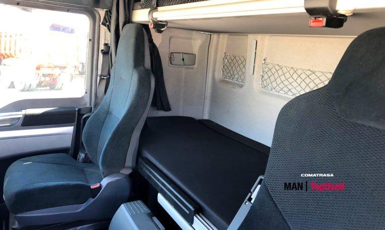 asientos y literas MAN TGX 18480