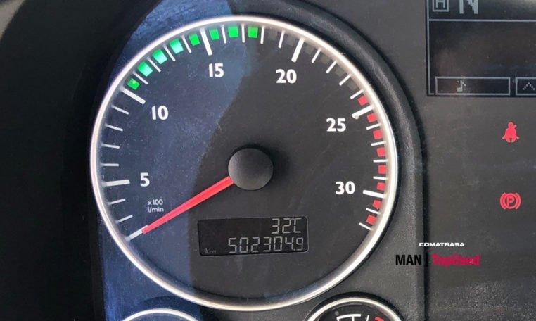 kilómetros MAN TGX 18480