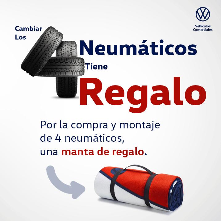 Regalo manta Volkswagen