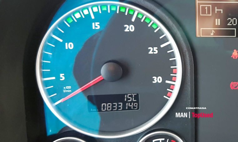 kilometros MAN TGL 12.250 4x2 BL