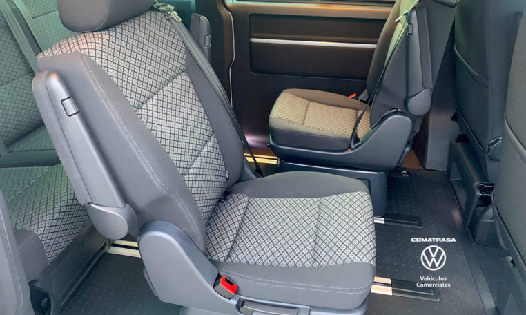 asientos giratorios Volkswagen California Beach T6.1
