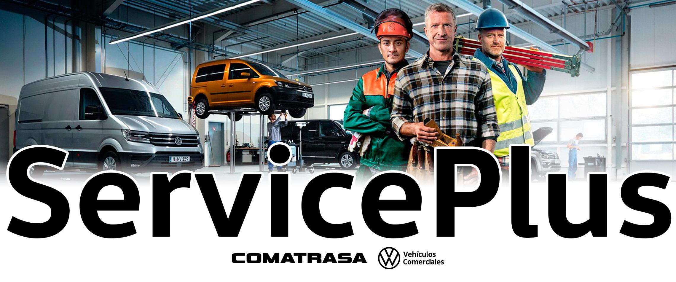 Serviceplus Volkswagen vehículos comerciales