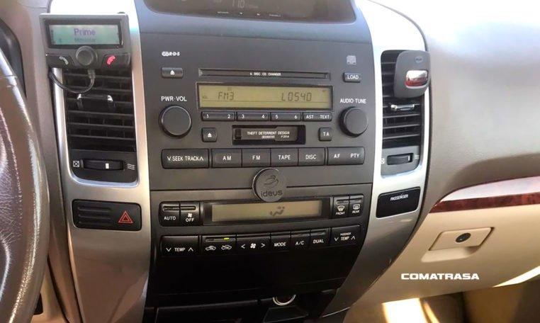 consola Toyota Land Cruiser 3.0 D4-D 166cv