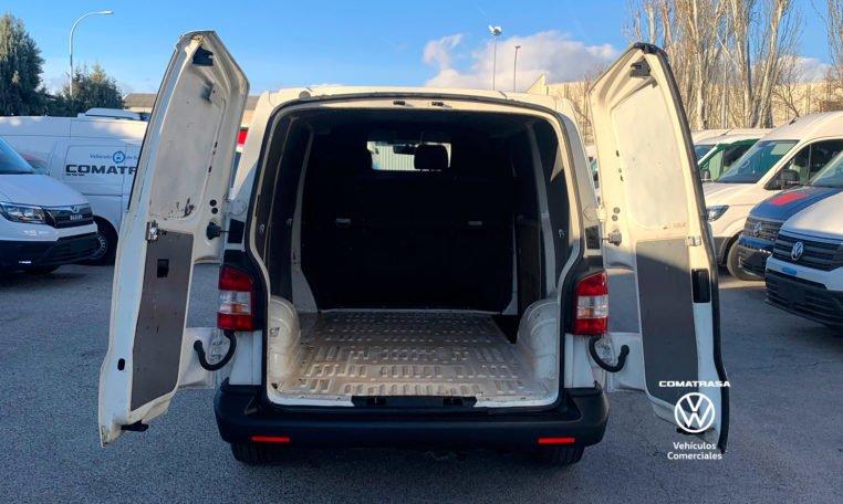 zona de carga Volkswagen Transporter T5 2.5 TDI