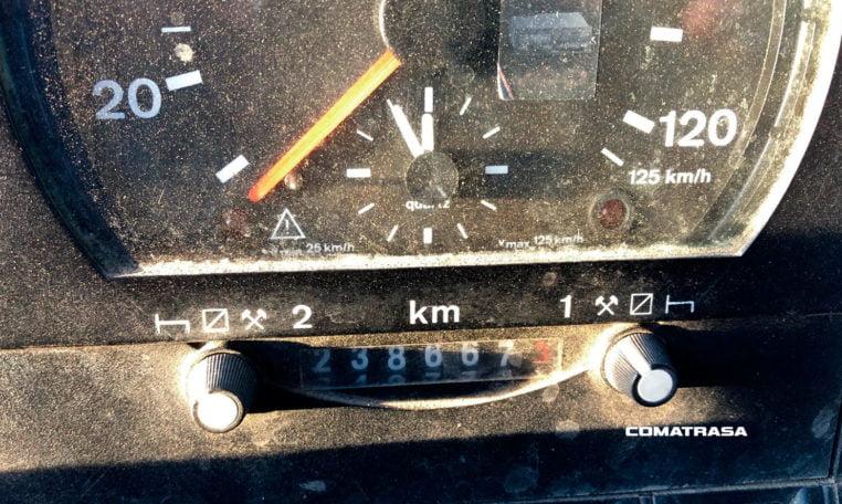 kilómetros VOLVO FL7 4X2 19500