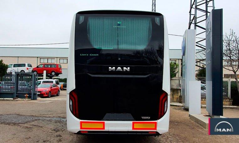 trasera Autobús MAN Lion's Coach R10