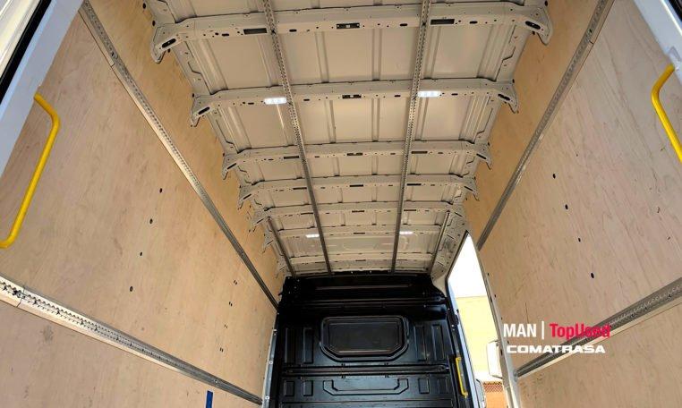 14 metros de carga MAN TGE 3140