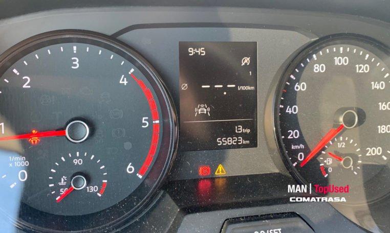 kilómetros MAN TGE 3140