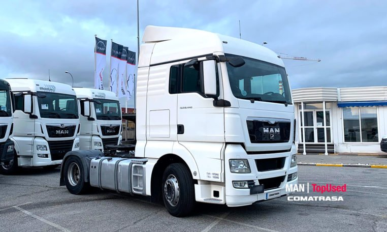 2012 MAN TGX 18.440 4x2 BLS 440 CV Cabeza Tractora