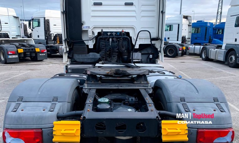 trasera MAN TGX 18.440 4x2 BLS 440 CV Cabeza Tractora