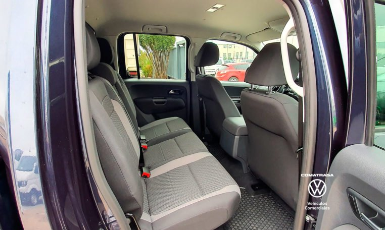 asientos traseros Volkswagen Amarok Origin