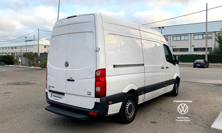 lateral derecho Volkswagen Crafter 30 Isotermo