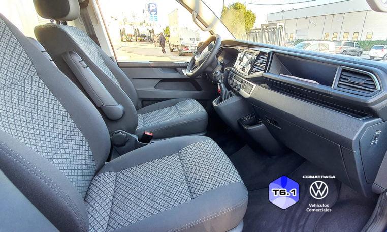 plazas delanteras Volkswagen Multivan T6.1