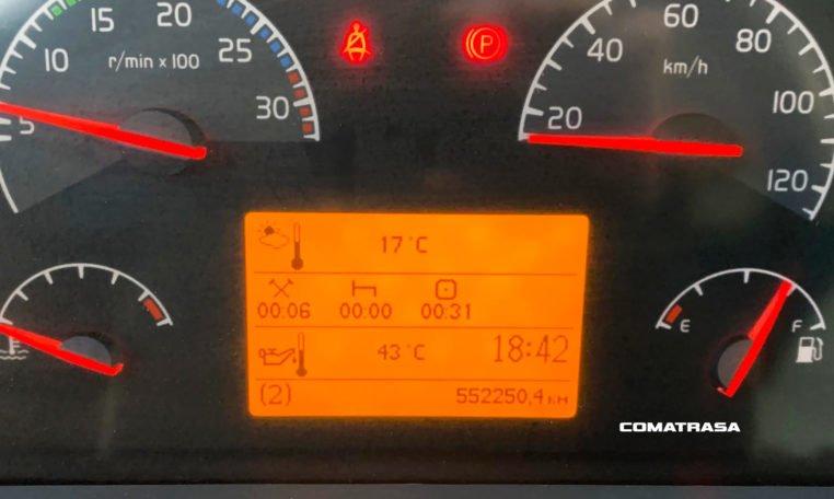 kilómetros Volvo FLL 42 240