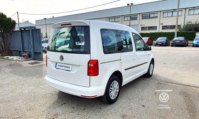 lateral derecho Volkswagen Caddy Trendline
