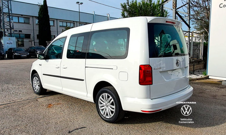 lateral Volkswagen Caddy Maxi TGI