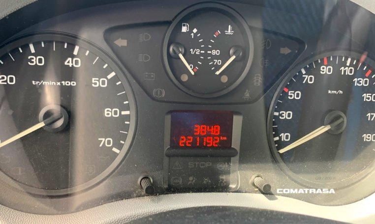 Kilómetros Fiat Scudo