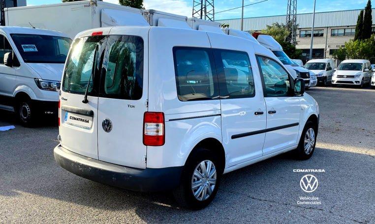 lateral derecho Volkswagen Caddy Kombi