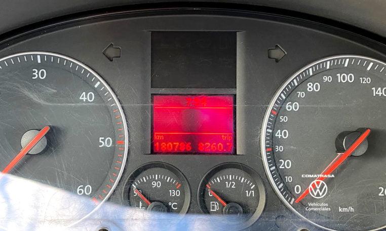 kilometros Volkswagen Caddy Kombi