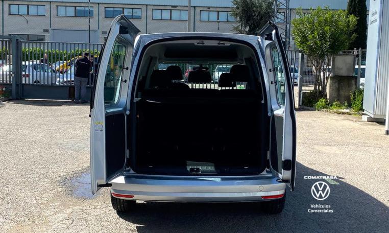 puertas traseras Volkswagen Caddy 102cv